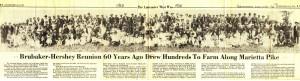 Sunday News article of 1920 reunion