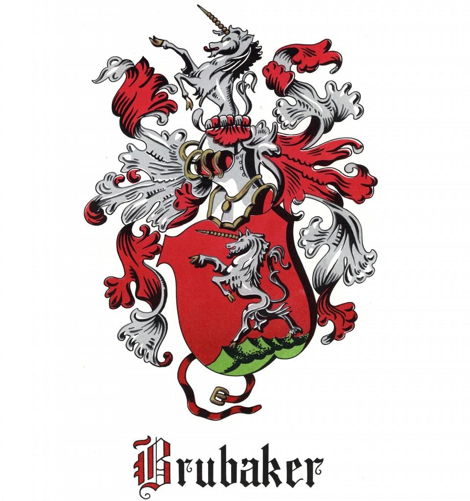 Brubaker Family Crest