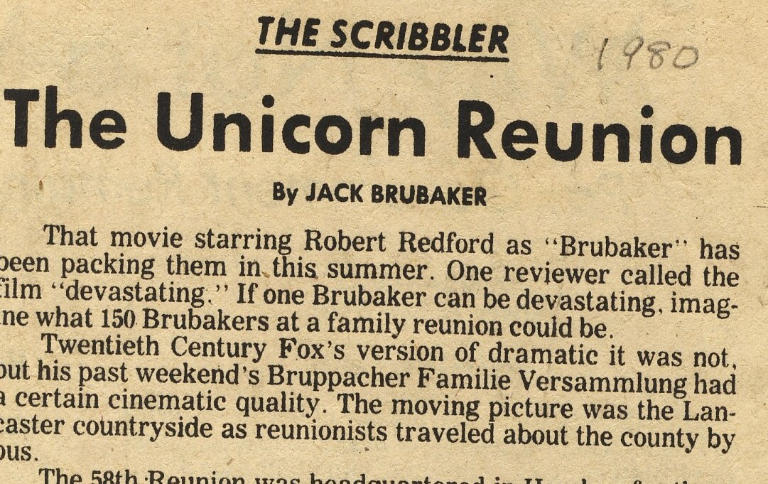 Unicorn Reunion headline