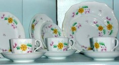John E. Brubacher tea set