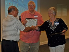 John P and Mary Brubaker recognition