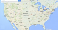 Google Brubacher map