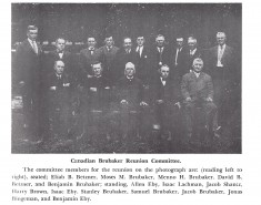 Canadian Brubaker Reunion Committee 03