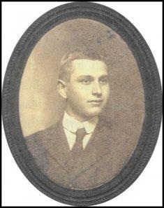 Landis H Brubaker circa 1909